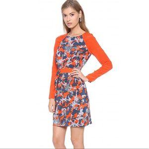 Rebecca Minkoff Long-Sleeve Cassandra Silk Dress